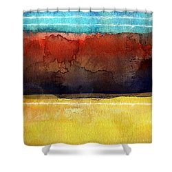 Traveling North Shower Curtain
