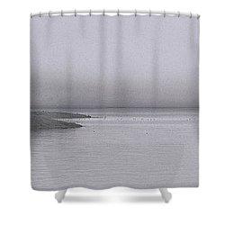 Trawler In Fog Shower Curtain