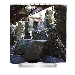Treadwell Mine Interior Shower Curtain by Cathy Mahnke