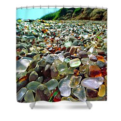 Treasure Beach Shower Curtain by Daniel Furon