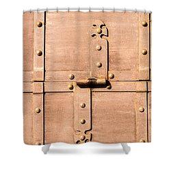 Treasure Behind - Featured 3 Shower Curtain by Alexander Senin