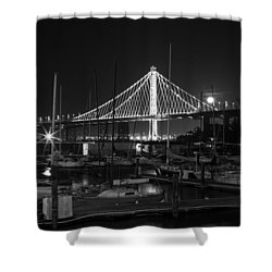 Treasure Island Boats Shower Curtain
