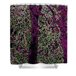 Tree Shower Curtain by Carol Lynch