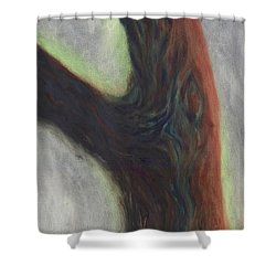Tree Cut Off Shower Curtain