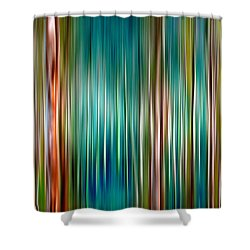 Tree Line Shower Curtain