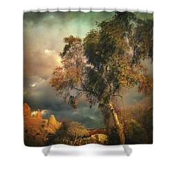 Tree Of Confusion Shower Curtain by Taylan Apukovska