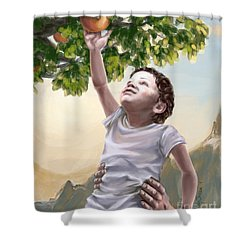 Tree Of Life Shower Curtain by Tamer and Cindy Elsharouni