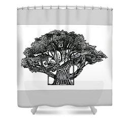 Tree Of Summer Shower Curtain