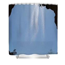 Shower Curtain featuring the photograph Tree Root Run-off by Kerri Mortenson
