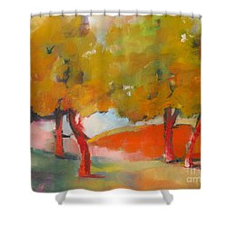 Trees #5 Shower Curtain