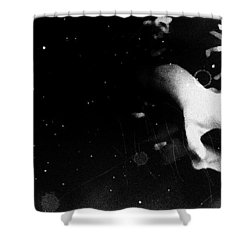 Trepidation Shower Curtain by Jessica Shelton