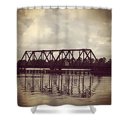 Trestle On The Pamlico River Shower Curtain
