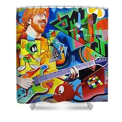 Trey Kandinsky  Shower Curtain by Joshua Morton