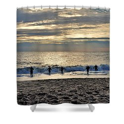 Triathalon Shower Curtain