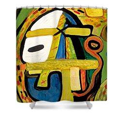 Tribal Mood Shower Curtain