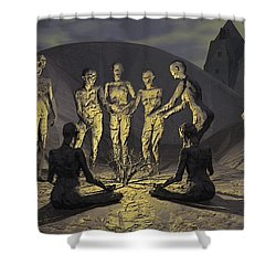 Tribe Shower Curtain