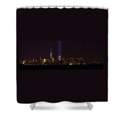 Tribute In Light 9.11 Shower Curtain
