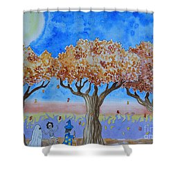 Trick Or Treat 1 Shower Curtain