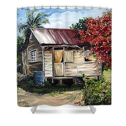 Trinidad Life 1  Shower Curtain by Karin  Dawn Kelshall- Best