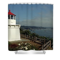 Trinidad Light Shower Curtain by Sharon Elliott