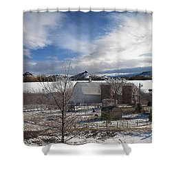 Shower Curtain featuring the photograph Trip To Baldwin City Kansas by Liane Wright