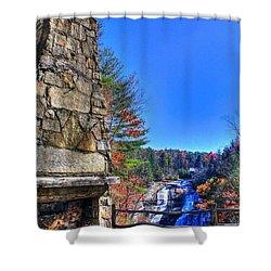 Triple Falls 2 Shower Curtain