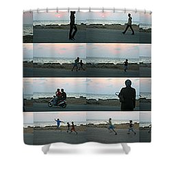 Tripoli Sunset Shower Curtain
