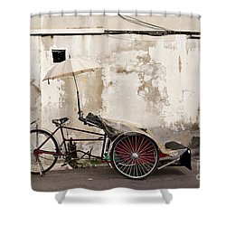 Trishaw Shower Curtain