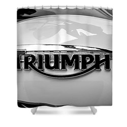 Triumph Fuel Tank Shower Curtain