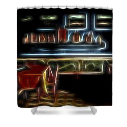 Tropical Dining Room 1 Shower Curtain