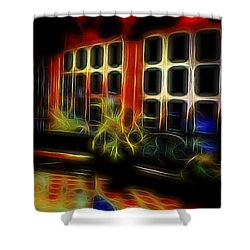 Tropical Drawing Room 2 Shower Curtain