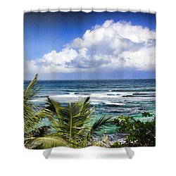 Tropical Dreams Shower Curtain
