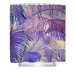 Tropical Embrace Shower Curtain