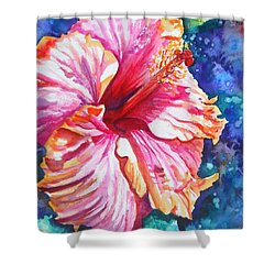 Tropical Hibiscus 4 Shower Curtain
