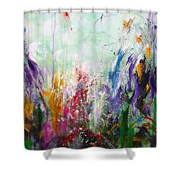 Tropical Journey Shower Curtain by Kume Bryant