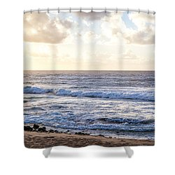 Shower Curtain featuring the photograph Tropical Morning  by Roselynne Broussard