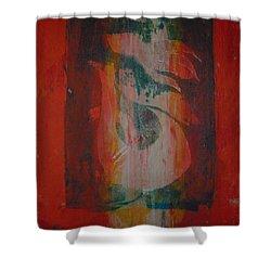 Tropical Palm Hous Shower Curtain