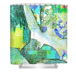 Tropical Tmeptress Shower Curtain by Seth Weaver