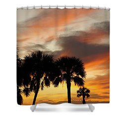Tropical Vacation Shower Curtain by Laurie Perry