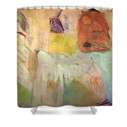 Trouble On The Home Front Shower Curtain