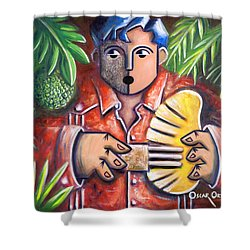 Trovador De La Pana Shower Curtain