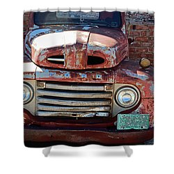 Ford In Goodland Shower Curtain by Lynn Sprowl