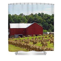 True Amish Farm Shower Curtain