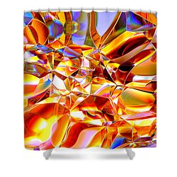 True Brilliance Shower Curtain by Andreas Thust