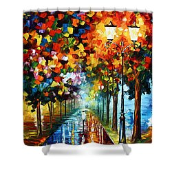 True Colors Shower Curtain by Leonid Afremov