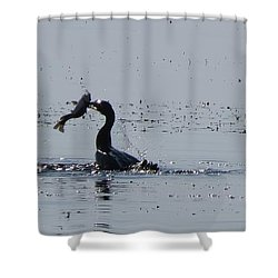 True Fisherman Shower Curtain