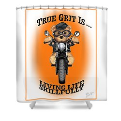 True Grit Shower Curtain by Jerry Ruffin