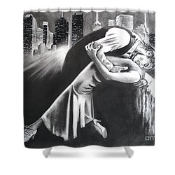 True Romance Shower Curtain by Carla Carson
