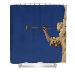 Trumpeter  Shower Curtain by First Star Art