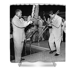 Trumpeter Louis Armstrong Shower Curtain
